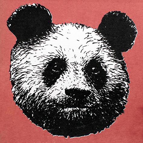 Jan Olav Forberg - Panda (rød variant)