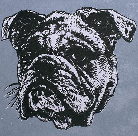 Jan Olav Forberg - Hund (grå variant)