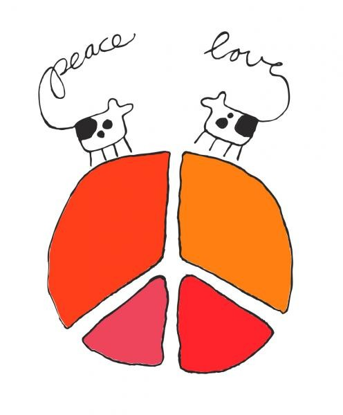 26732_Gunilla_Holm_Platou_-_Peace_and_love_1-496x600