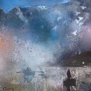 Jan Olav Forberg - Fjord - maleri