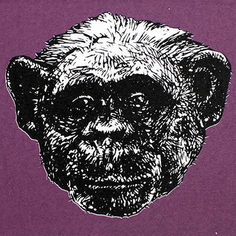 Jan Olav Forberg - Sjimpanse (lilla variant)