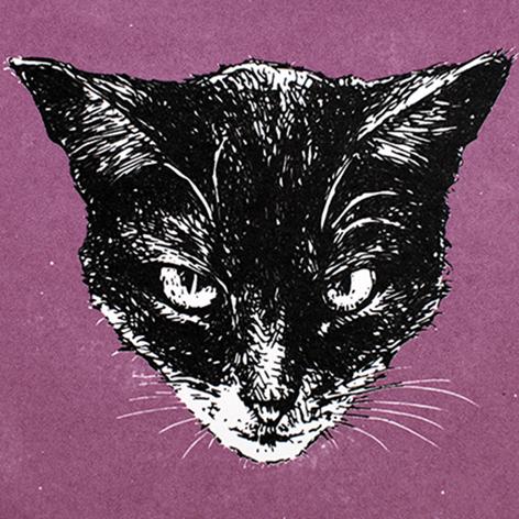Jan Olav Forberg - Katt (lilla variant)
