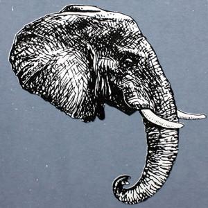 Jan Olav Forberg - Elefant (grå variant)