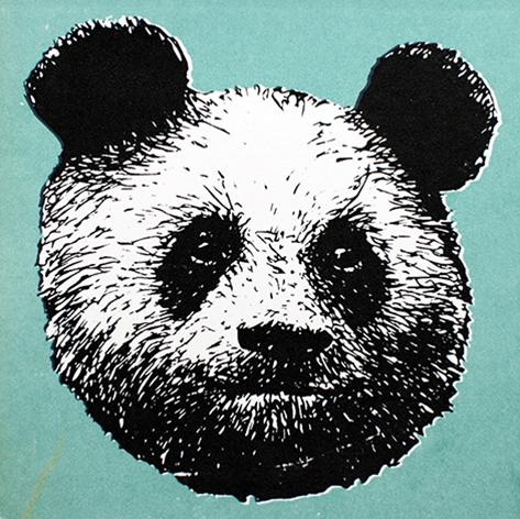 Jan Olav Forberg - Panda (grønn variant)