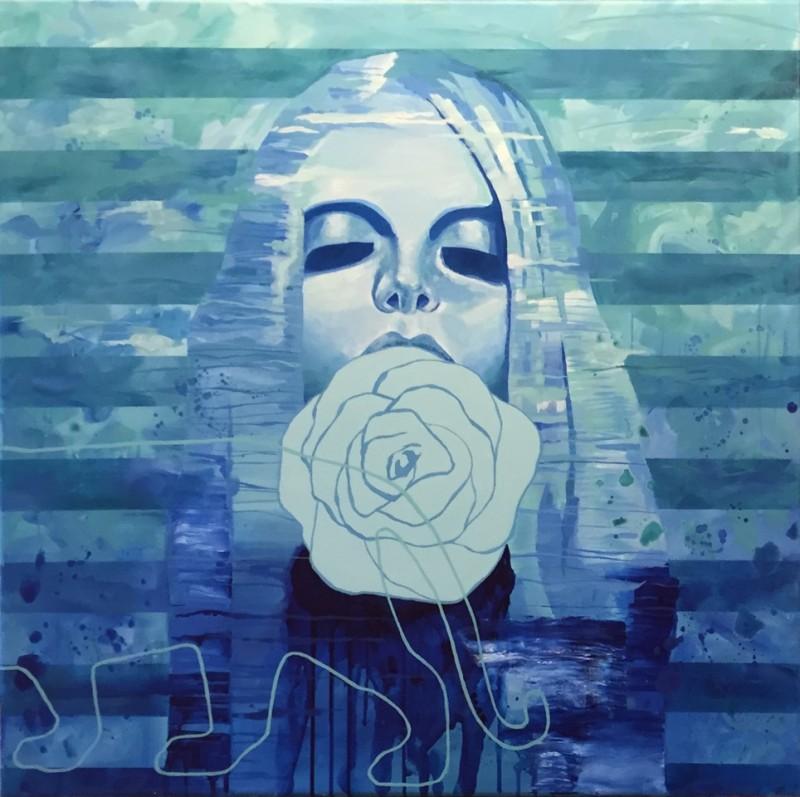 1969 maleri blått