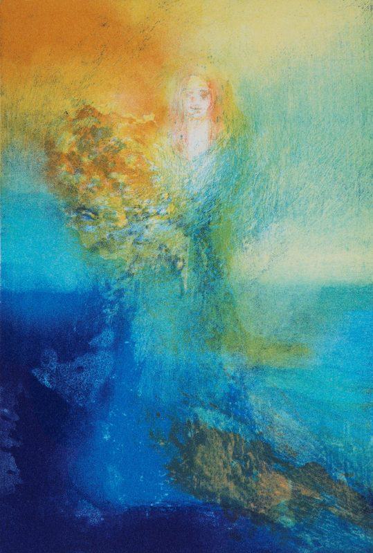 Blomstring, 16x23 cm