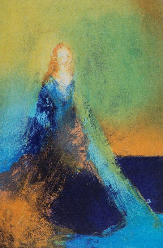 Kvinne, 16 x 23 cm