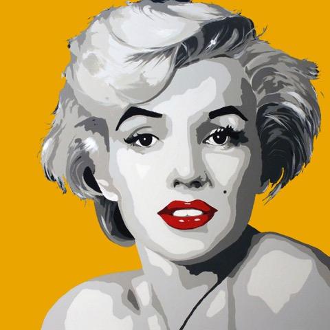 Miss Monroe gul 20 x 20