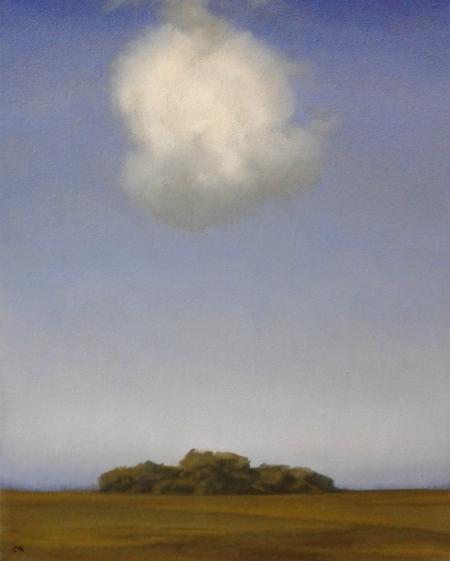 Maleri med sky III 24x30 cm web