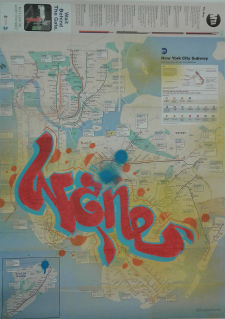 Wane Cod New York City Subway Maps Simple Is Better Med Ramme
