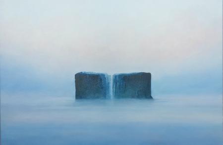 Misty landscape web