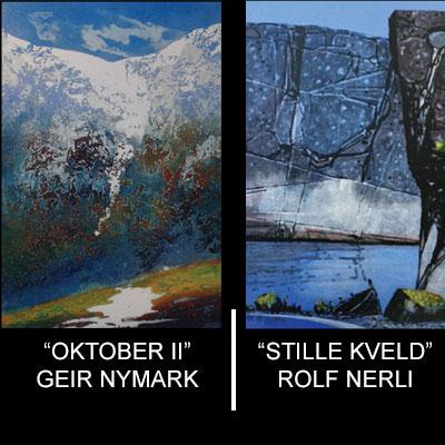 Rolf Nerli og Geir Nymark hos Artgate Majorstua 6. - 29. sept.